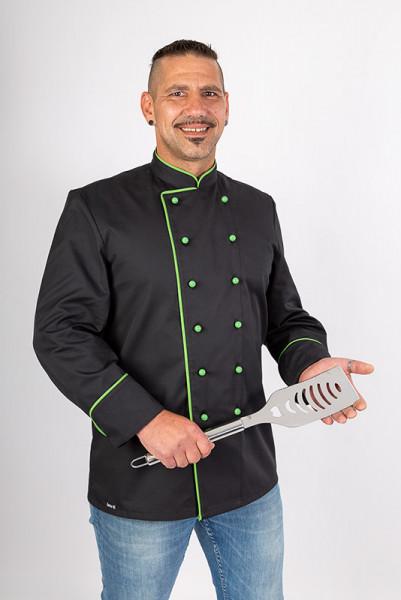 Kochjacke Heinz_Black Edition von Enrico Wieland