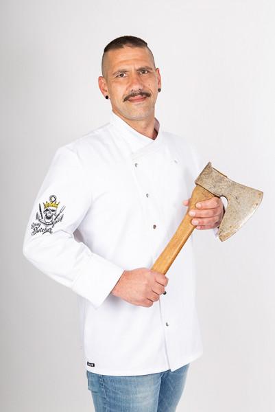 Kochjacke Alejandro_Spicy Butcher Edition von Enrico Wieland