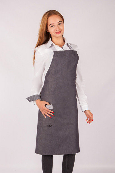High quality simple bib apron Abu Dhabi_Jeans Edition, in exclusive jeans material by Enrico Wieland workwear
