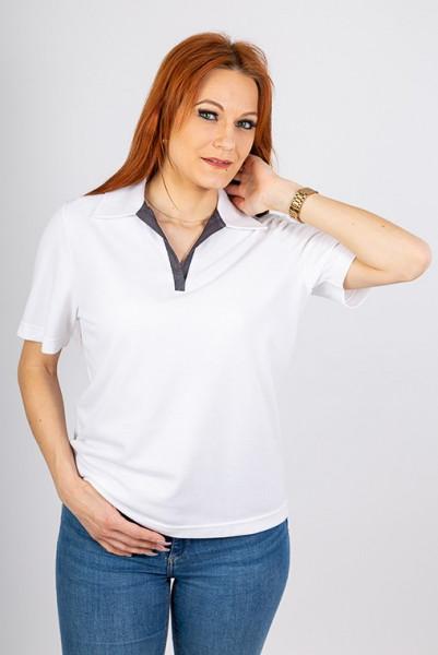 Performance Damenpoloshirt Volly_Jeans Edition