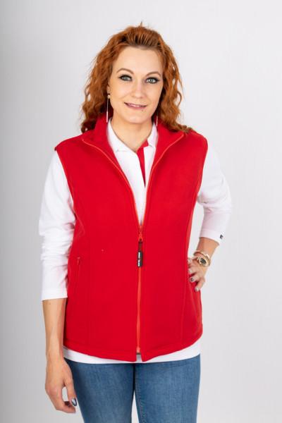 Ladies fleece vest Elvira in many colors