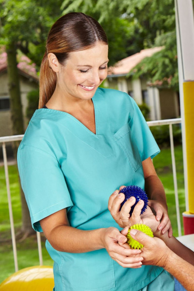 Pflegekasack Medical in Kurzarm