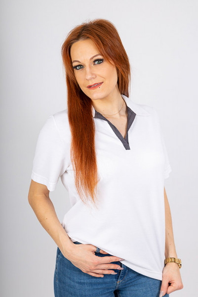 Performance Ladies Polo Shirt Volly_Jeans Edition