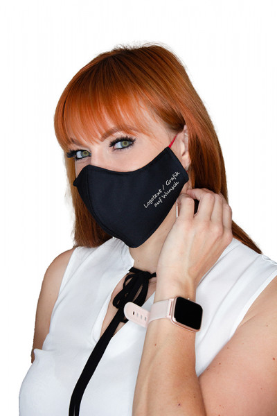 Design Mund- & Nasenschutzmaske EWSB von Enrico Wieland