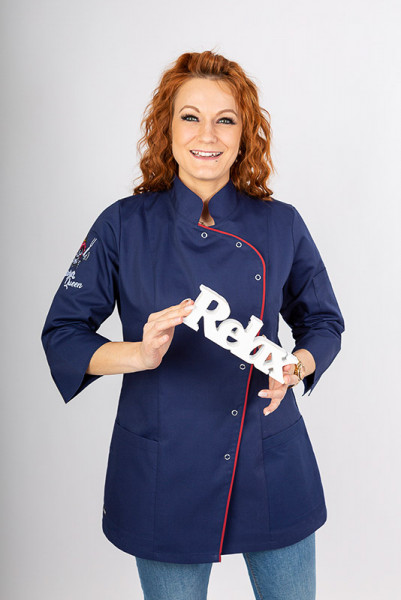 Ladie's chef jacket Hiara_Navy Edition by Enrico Wieland