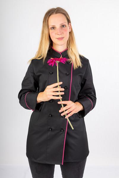 Ladie'S Chef jacket Henriette_Black Edition by Enrico Wieland