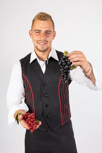 Men's Vest Werner_Black Cherry Edition by Enrico Wieland