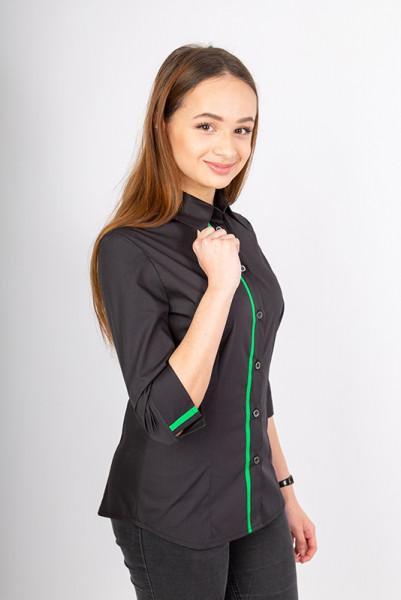 Ladies blouse Falconia_Black Edition by Enrico Wieland Workwear