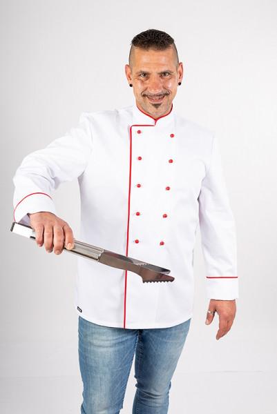 Chef's jacket Heinz_White Edition by Enrico Wieland