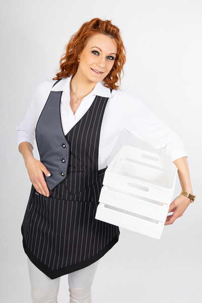 Modern bib apron Tiffany_Serie 163 by Enrico Wieland Workwear
