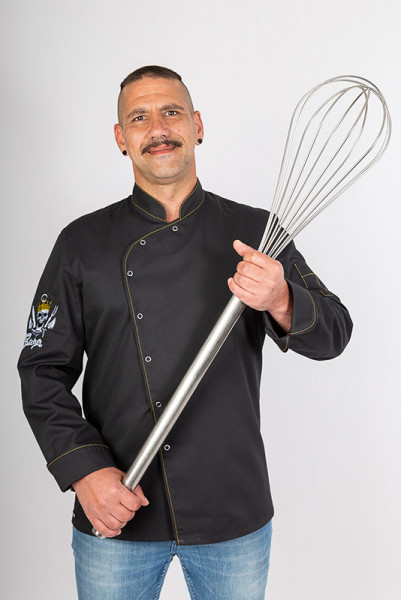 Chef's jacket Lorenzo_Spicy Butcher Edition by Enrico Wieland