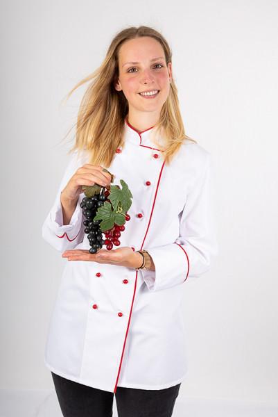 Ladie's chef jacket Henriette_White Edition by Enrico Wieland