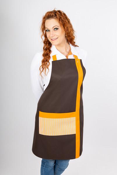 Bib apron Palma_Choco Edition by Enrico Wieland professional fashion
