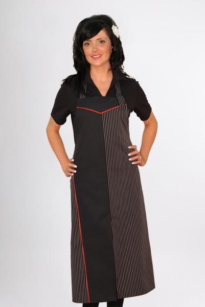 Bib apron Dallas_Series 129 by Enrico Wieland professional clothing