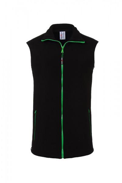 Fleece vest Finnea_Black Edition by Enrico Wieland