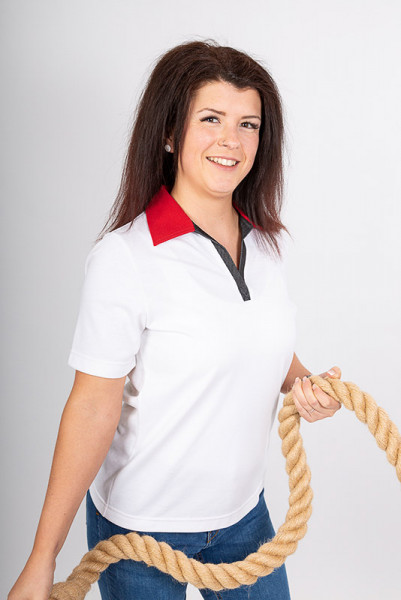 Performance ladies polo shirt Volly II_Jeans Edition