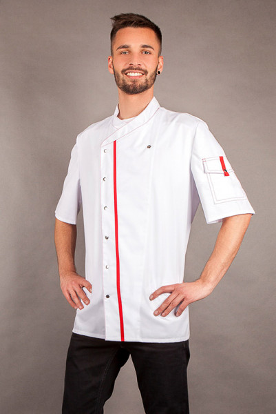 Cooking jacket Alejandro_White Edition by Enrico Wieland Workwear