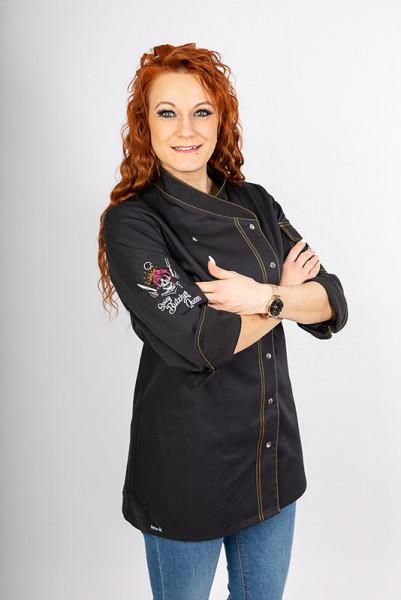 Damenkochjacke Alessia_Spicy Butcher Edition von Enrico Wieland