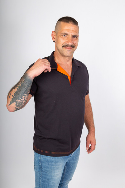 Poloshirt Martin_Black Edition by Enrico Wieland