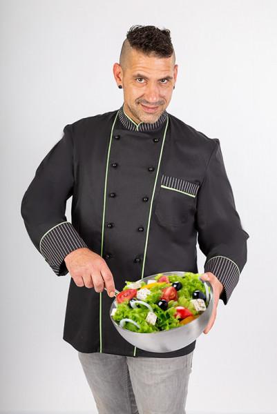 Chef's jacket Henri_Black Edition by Enrico Wieland